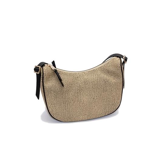 Borse Borbonese Varese : Borbonese borsa da spalla mezzaluna griffi moda